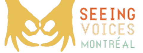 Seeing Voices Montreal logo
