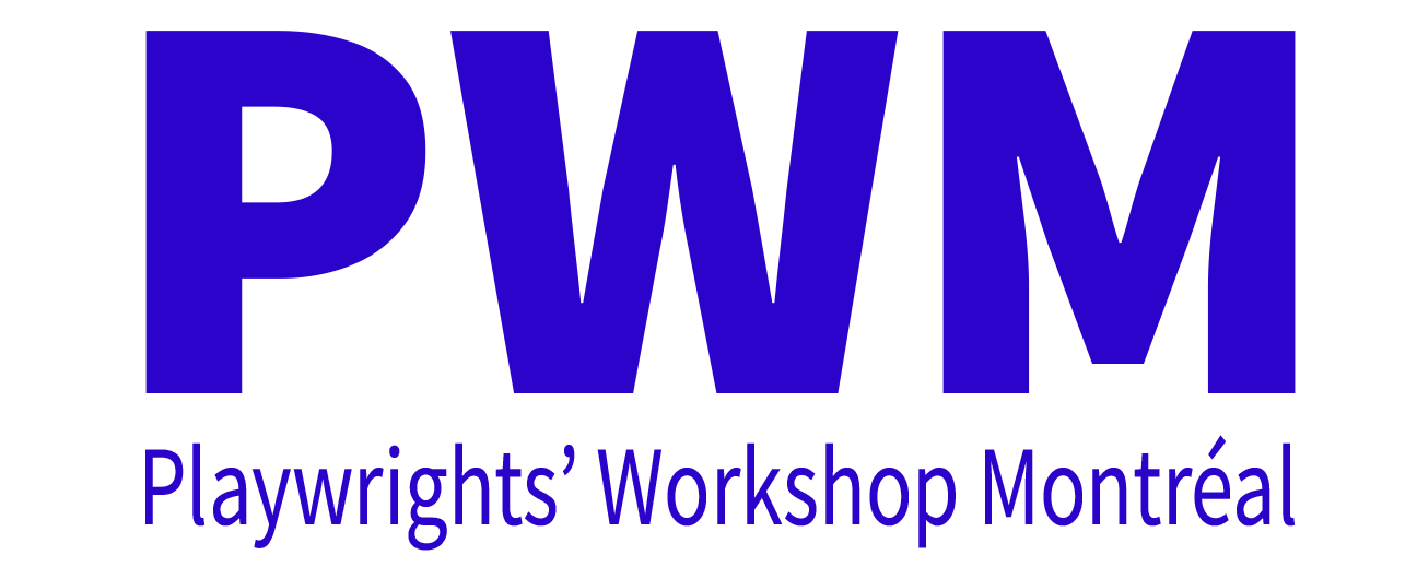 Playwrights' Workshop Montreal (PWM) logo