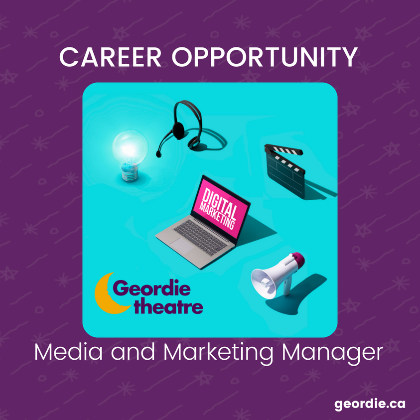 Career Opportunity: Media and Marketing Manager